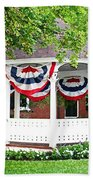 American Gazebo Beach Towel