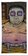 American Idle Beach Towel by James W Johnson