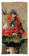 American Impressionist Painter Beach Towel