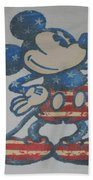 American Mouse Beach Towel