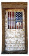 American Native Finger Prints Beach Towel