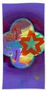 American Neon Beach Towel