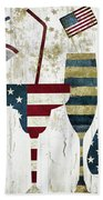 American Party Beach Towel