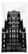 American Radiator Building Beach Towel
