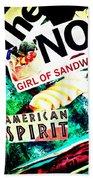 American Spirit Beach Towel