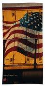 American Workhorse Beach Towel
