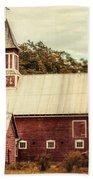 Americana Barn Beach Sheet