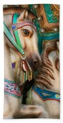 Americana - Carousel Beauties Beach Towel