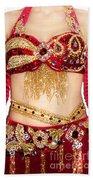 Ameynra Design - Belly Dance Costume - By Sofia Goldberg Beach Towel