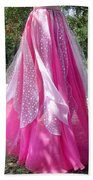 Ameynra Design - Pink-white Petal Skirt 146 Beach Towel