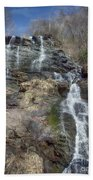 Amicolola Falls Beach Towel