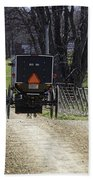 Amish Buggy March 2016 Beach Towel