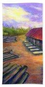 Amish Lumbermill Beach Towel