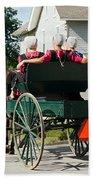 Amish Women Beach Towel