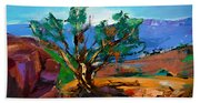Among The Red Rocks - Sedona Beach Towel