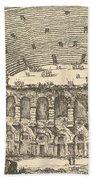 Amphitheater Of Verona Beach Towel