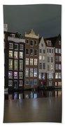 Amsterdam City Lights Beach Towel