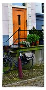 Amsterdam Door Beach Towel