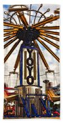 Amusement Park Beach Towel
