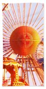 Amusement Rides Beach Towel