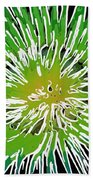 An Abstract Scene Of Sea Anemone 2 Beach Towel by Lanjee Chee