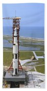 An Aerial View Of The Apollo 15 Beach Towel