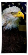 An American Icon Beach Towel by Chris Lord