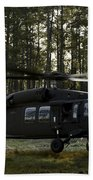 An Hh-60 Pave Hawk Evacuates Injured Beach Towel