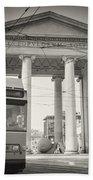 Analog Black And White Photography - Milan - Porta Ticinese Beach Towel