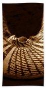 Anasazi Butterfly Pot Beach Towel