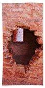 Anasazi Cliff Dwellings #10 Beach Towel
