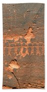 Anasazi Dancers Beach Towel