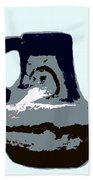 Anasazi Jug Beach Towel
