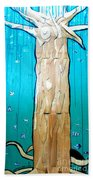 Ancestral Tree Indians To The Sea Beach Towel
