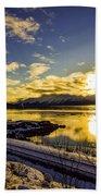 Anchorage Sunrise Beach Towel