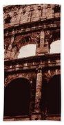 Ancient Colosseum, Rome Beach Towel