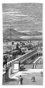 Ancient Corinth, C1894 - To License For Professional Use Visit Granger.com Beach Towel