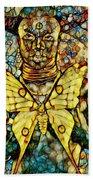 Ancient Goddess The Mother Beach Towel