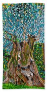 Ancient Olive Tree Beach Towel
