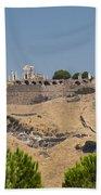 Ancient Pergamon Acropolis Beach Towel