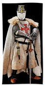 Ancient Templar Knight - 02 Beach Towel
