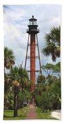 Anclote Key Lighthouse Beach Towel