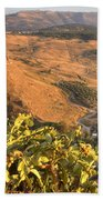Andalucian Golden Valley Beach Towel