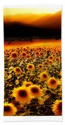 Andalucian Suns Beach Towel by Mal Bray