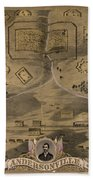 Andersonville Prison Beach Towel