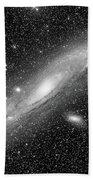 Andromeda Galaxy Beach Sheet