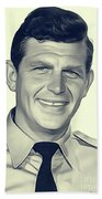 Andy Griffith, Vintage Actor Beach Towel