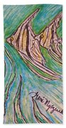 Angel Fish Beach Towel