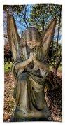 Angel In Prayer Beach Towel