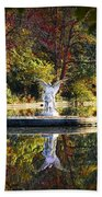 Angel In The Lake - St. Mary's Ambler Beach Towel